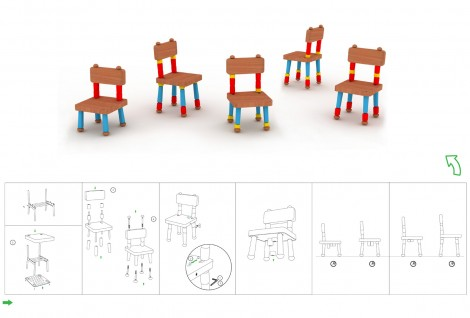 A Furniture System to Aid Psychophysical Development in Children 3–6 Years Old