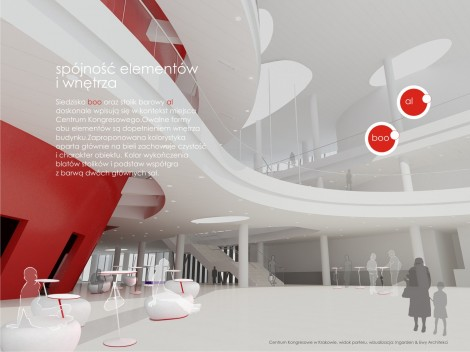 Selected Furnishing Elements for the Congress Center in Krakow