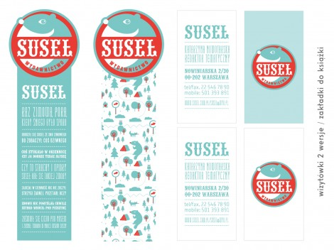 Visual ID System Design for Suseł (Gopher) Publishers