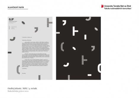 Visual ID for the Jaroslav Fragner Gallery