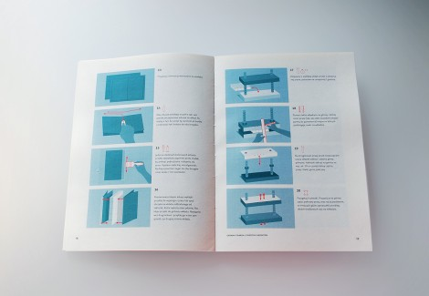 A book on books – selected bookbinding instructions