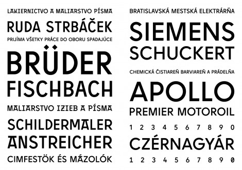 Pressburger: a universal display sans serif