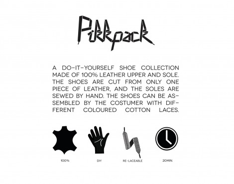 Pikkpack‑Egy footwear collection