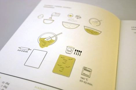 Cookbook with pictograms