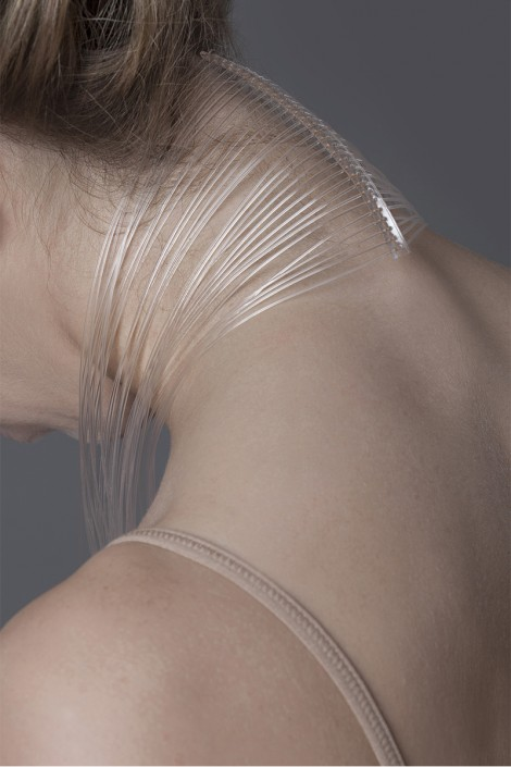 Jewelry defined by the build and movement of the human body