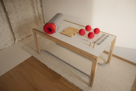 Trainer – a multifunctional table for home rehabilitation of children with cerebral palsy