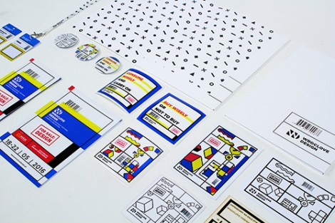 Visual identity system for WROCLOVE DESIGN III International Festival of Good Projects